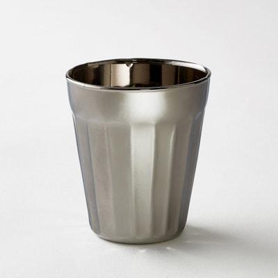 Confezione da 4 bicchieri argentati modello piccolo Tagla AM.PM.