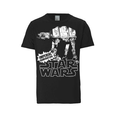 T-Shirt AT- AT - Guerre des étoiles - Star Wars -  noir T-Shirt AT- AT - Guerre des étoiles - Star Wars -  noir LOGOSHIRT