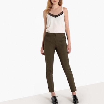 Slim broek met scherpe plooi Slim broek met scherpe plooi La Redoute Collections