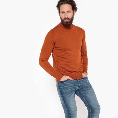 Pull PASCAL col roulé 100% laine mérinos Pull PASCAL col roulé 100% laine mérinos LA REDOUTE COLLECTIONS
