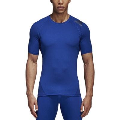 Plain Short-Sleeved Crew Neck T-Shirt Plain Short-Sleeved Crew Neck T-Shirt ADIDAS PERFORMANCE