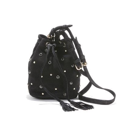 Cobane Studded Suede Bucket Bag PETITE MENDIGOTE