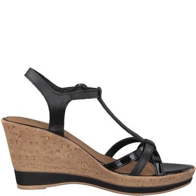 Sandalen met sleehak Vesila TAMARIS