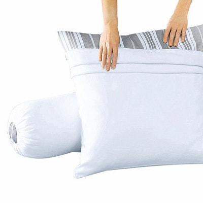 Sous-taies pour oreiller en molleton coton REVERIE