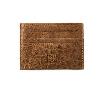 Porte-cartes de crédit pour Homme et Femme en Cuir souple Ultra slim Fin et 7a1baec90f5