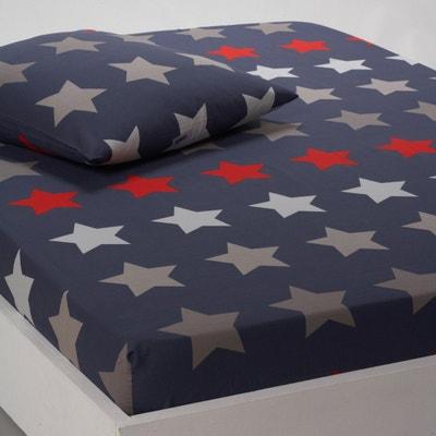 Lençol-capa em algodão STARS Lençol-capa em algodão STARS La Redoute Interieurs