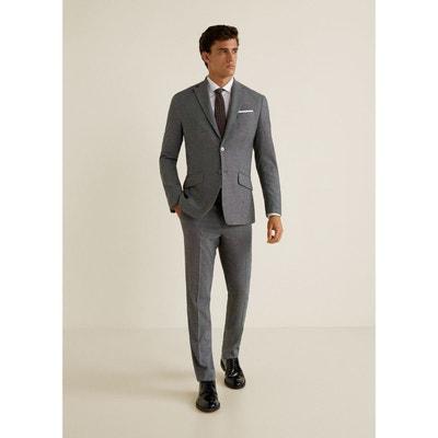89a8aa12bea83 Pantalon de costume regular-fit en micro-imprimé Pantalon de costume  regular-fit. MANGO MAN