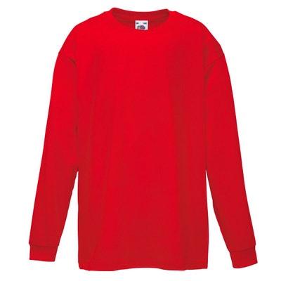 T-shirt à manches longues T-shirt à manches longues FRUIT OF THE LOOM 7cf976e49d58