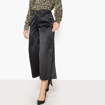 Pantalon large en polyester recyclé Pantalon large en polyester recyclé La Redoute Collections