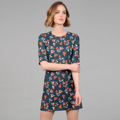 Floral Print Short Dress Floral Print Short Dress MOLLY BRACKEN
