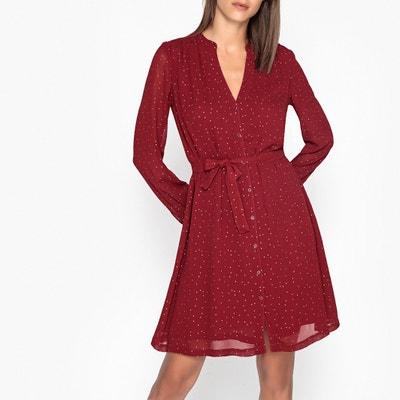 Kleid ROMANE mit V-Ausschnitt Kleid ROMANE mit V-Ausschnitt JOLIE JOLIE PETITE MENDIGOTE