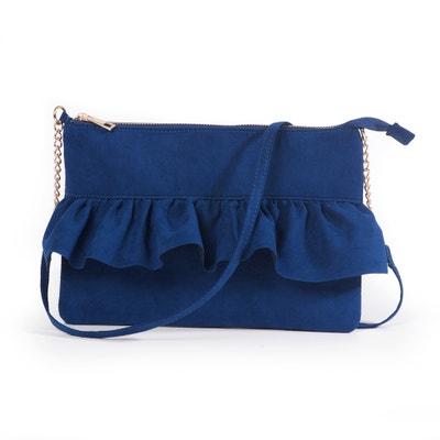 Ruffle Trim Clutch Bag MADEMOISELLE R