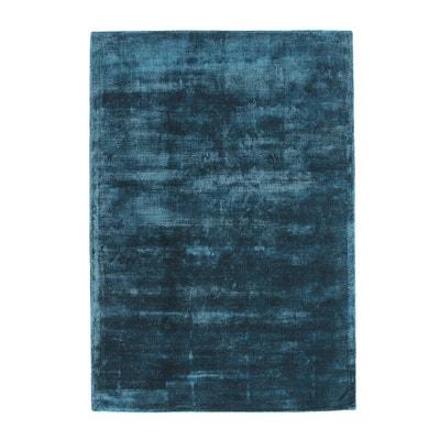 tapis 100viscose guitou la redoute interieurs - Tapis Turquoise