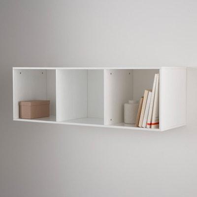 Mayeul 3-Compartment Wall Shelf Mayeul 3-Compartment Wall Shelf La Redoute Interieurs