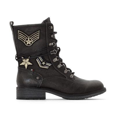 """Boots """"Café"""" Boots """"Café"""" MUSTANG SHOES"""