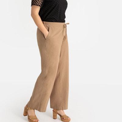 SUNDAY LIFE. Pantalon chic pour Femme décontractée en lin et coton Chic et  élégant. 140,00 € · Pantalon large lin mélangé Pantalon large lin mélangé  ... 8c367932a7e5