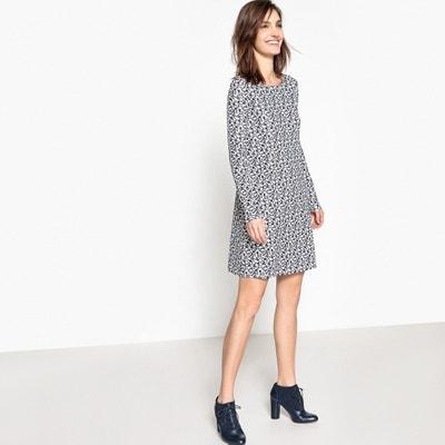 Платье свободное с цветочным рисунком La Redoute Collections