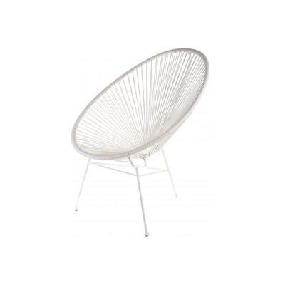 Fauteuil Blanc Design Zimaculto LA CHAISE LONGUE