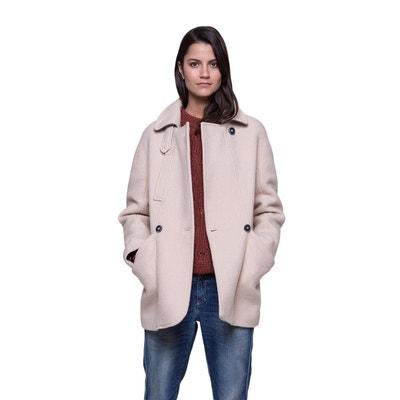 Manteau court en laine extra douce et chaude Manteau court en laine extra douce et chaude TRENCH AND COAT