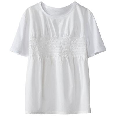 Gesmoktes T-Shirt Gesmoktes T-Shirt MADEMOISELLE R