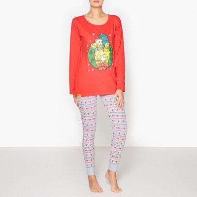 Bedrukte pyjama, Simpsons Bedrukte pyjama, Simpsons SIMPSONS