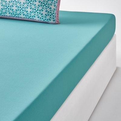 YUCATAN Plain Cotton Fitted Sheet YUCATAN Plain Cotton Fitted Sheet La Redoute Interieurs