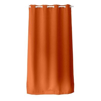 Rideau orange et marron | La Redoute