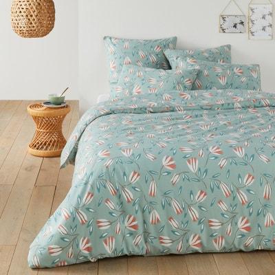 Funda nórdica de algodón lavado SATINE FLOWER Funda nórdica de algodón lavado SATINE FLOWER La Redoute Interieurs