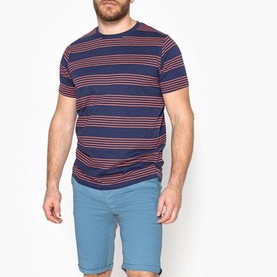 Tee shirt rayé CASTALUNA FOR MEN
