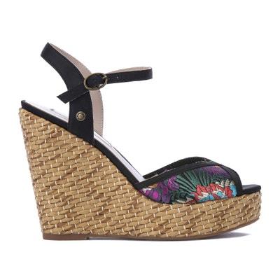 Walker Orient Wedge Sandals Walker Orient Wedge Sandals PEPE JEANS
