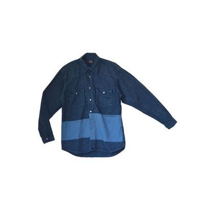 Chemise jeans avec poches et capuche amovible WYLDE