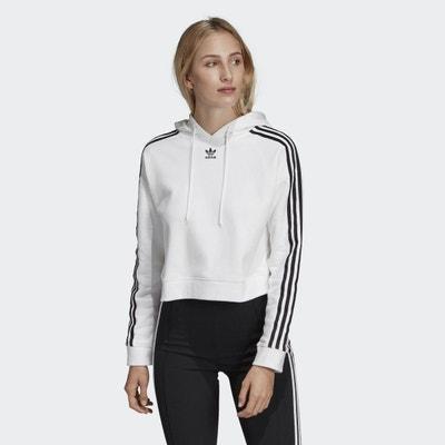 Sweat-shirt à capuche Cropped Sweat-shirt à capuche Cropped adidas Originals 9802281c75bb