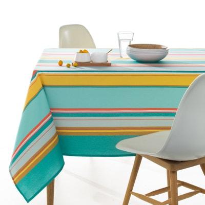 Alicante Striped Tablecloth La Redoute Interieurs