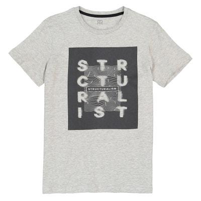 Bedrucktes T-Shirt mit rundem Ausschnitt, 10-16 Jahre Bedrucktes T-Shirt mit rundem Ausschnitt, 10-16 Jahre La Redoute Collections