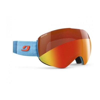 8a6ebf90164ef0 Masque de ski mixte JULBO Bleu SKYDOME Bleu Cyan   Orange SNOWTIGER JULBO