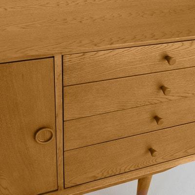 QUILDA 2-Door 4-Drawer Vintage Sideboard QUILDA 2-Door 4-Drawer Vintage Sideboard La Redoute Interieurs