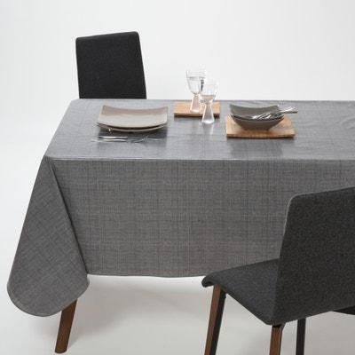 Woven Effect PVC Tablecloth La Redoute Interieurs