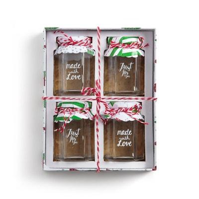 Caixa com 4 frascos para doce, STRADO (lote de 4) Caixa com 4 frascos para doce, STRADO (lote de 4) La Redoute Interieurs