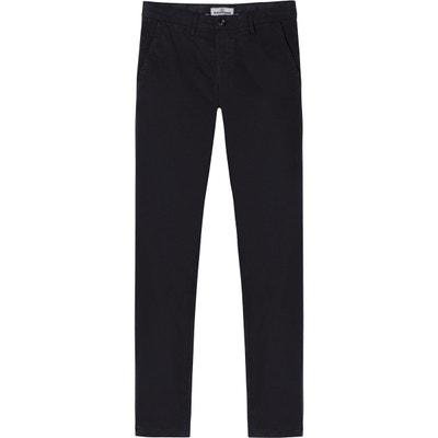 FLASH - Pantalon chino slim noir FLASH - Pantalon chino slim noir EUROPANN 8644688f5f61