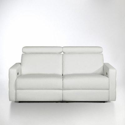 Canapé de relaxation électrique cuir, Hyriel La Redoute Interieurs