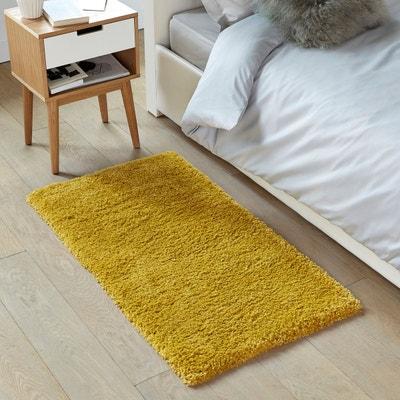 tapis jaune moutarde en solde la redoute. Black Bedroom Furniture Sets. Home Design Ideas
