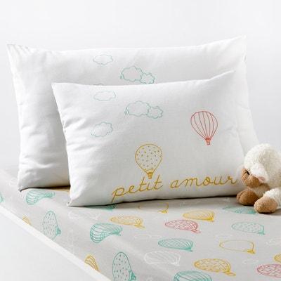 Taie d'oreiller imprimée bébé AMABELLA Taie d'oreiller imprimée bébé AMABELLA La Redoute Interieurs