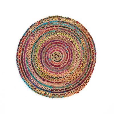 Tappeto in iuta e cotone TENONA, diametro 100 cm La Redoute Interieurs