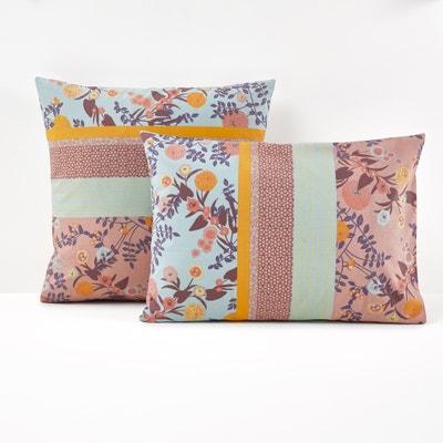 Funda de almohada con estampado 100% algodón, Shisendo Funda de almohada con estampado 100% algodón, Shisendo La Redoute Interieurs