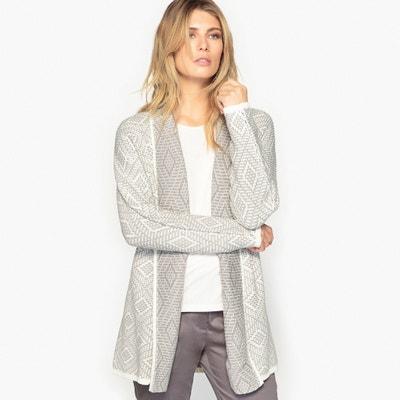 Long Jacquard Jacket ANNE WEYBURN
