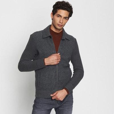 77cd91fd68792 cardigan homme col chemise cardigan homme col chemise DEVRED. Soldes