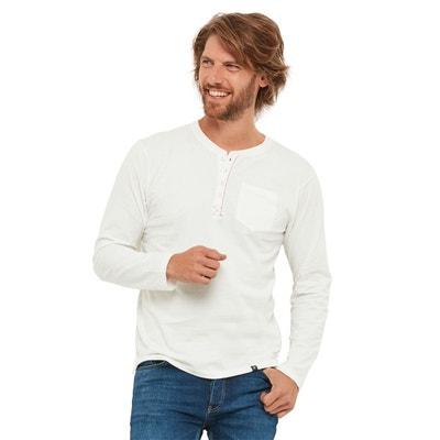 e757d972f7143 T-shirt Henley avec poche poitrine T-shirt Henley avec poche poitrine JOE  BROWNS