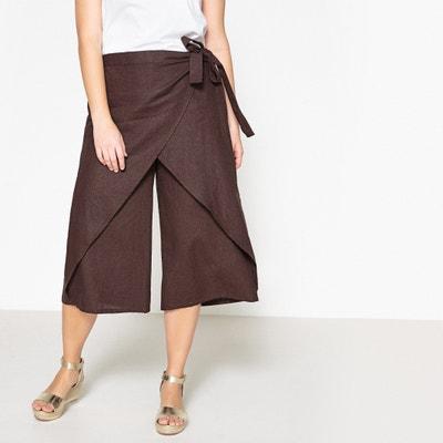 Loose Fit Wide Leg Trousers CASTALUNA