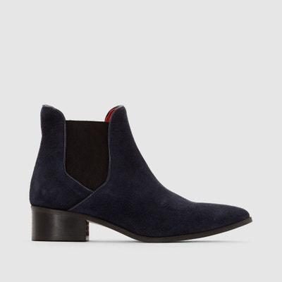 Boots cuir chelsea Solvi Boots cuir chelsea Solvi PASTELLE