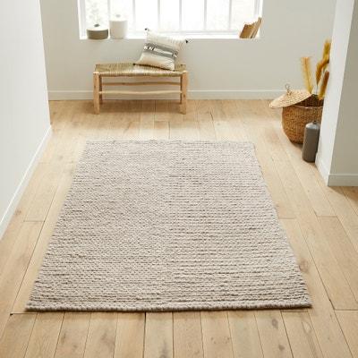 Alfombra de cama diano, 100% lana, efecto tricot La Redoute